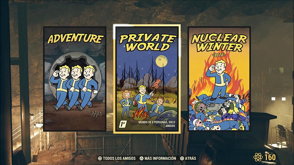 mundos privados fallout 76