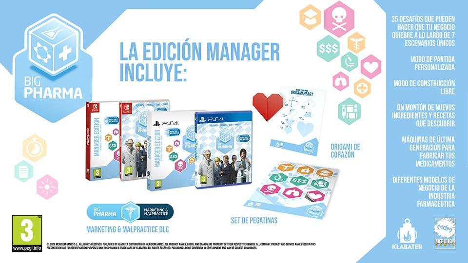 edición Manager de Big Pharma