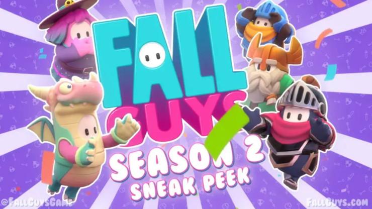 temporada 2 de Fall Guys