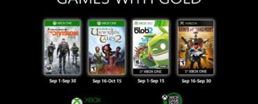 Games with Gold de septiembre
