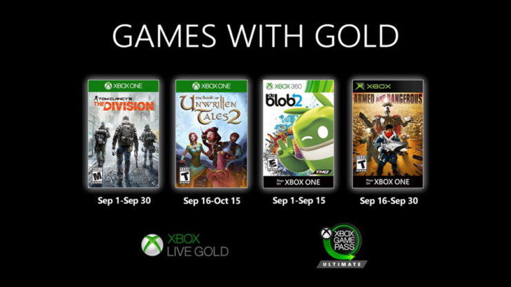 Games with Gold de septiembre
