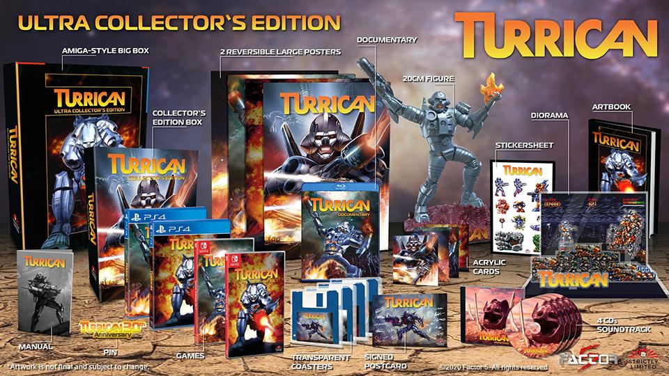Ultra Collector's Edition de Turrican