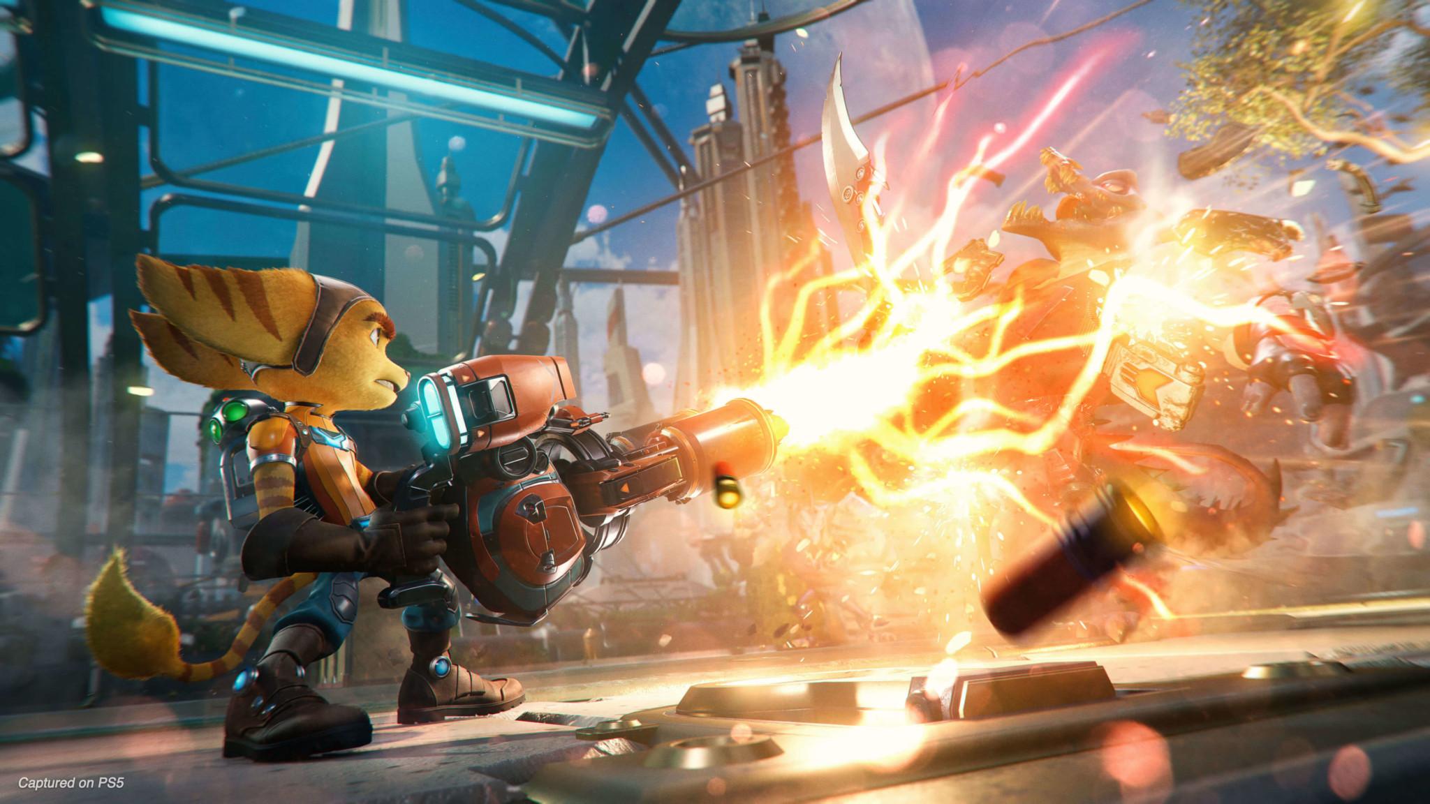 Disponible el gameplay de Ratchet & Clank: Una Dimensión Aparte con  subtítulos en español - PowerUps
