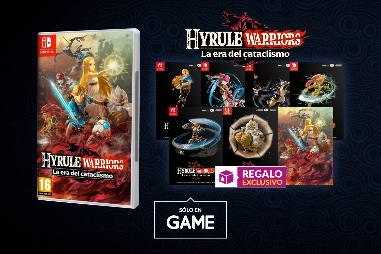 Hazte Con Una Coleccion De Tarjetas De Hyrule Warriors La Era Del Cataclismo En Game Powerups