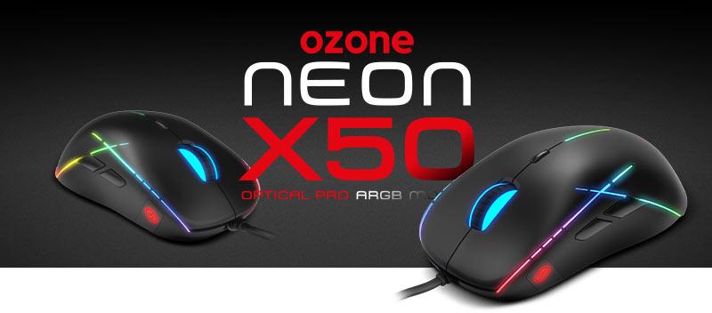 ozone neon x50 ratón