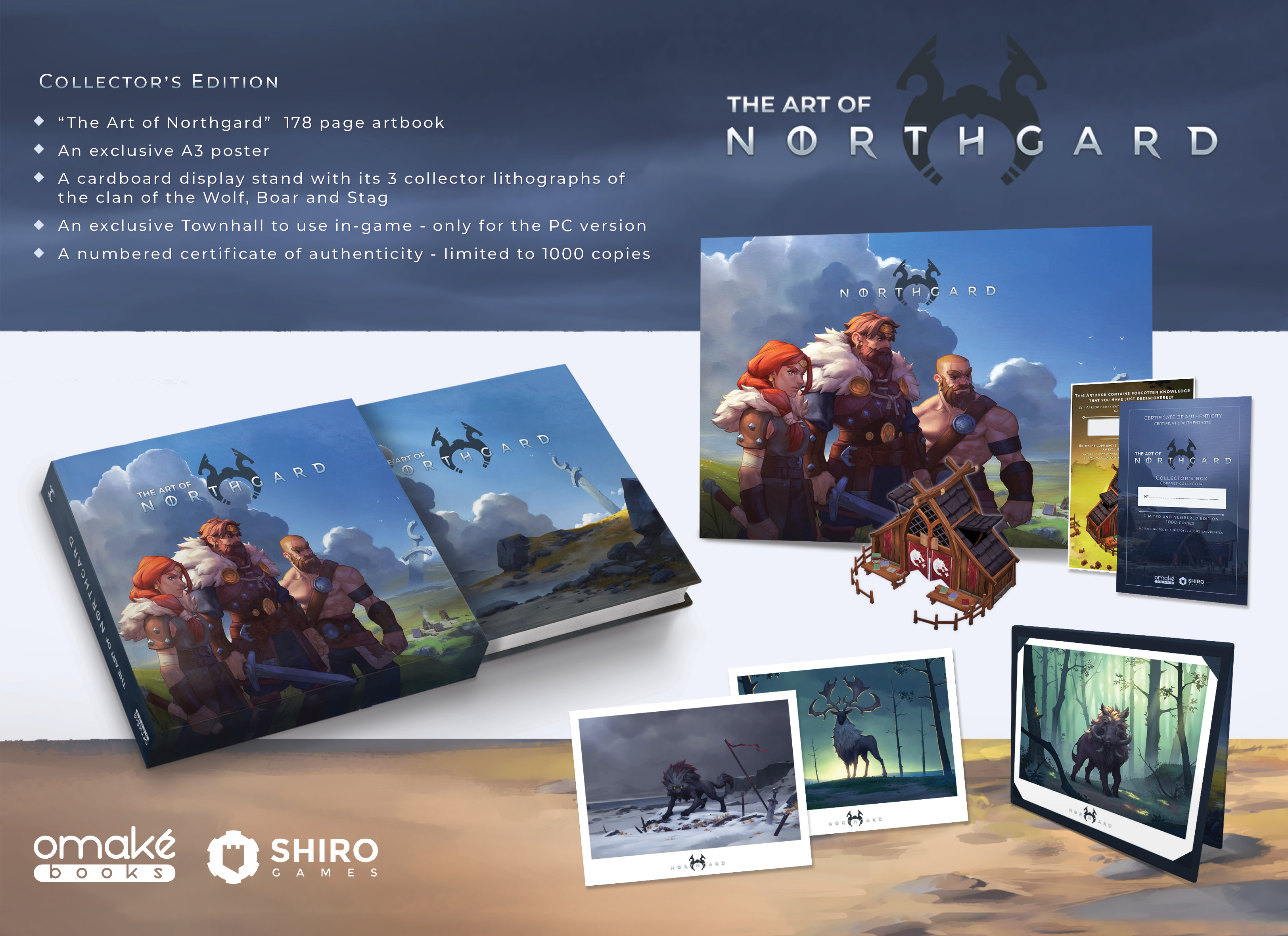 Edición Coleccionista del Libro de Arte de Northgard