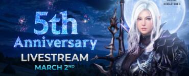 Black desert online quinto aniversario