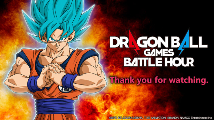 Dragon Ball Games Battle Hours