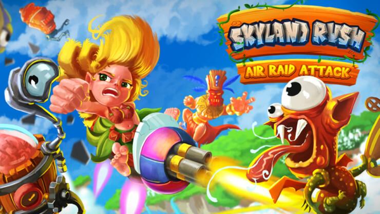 Skyland Rush: Air Raid Attack