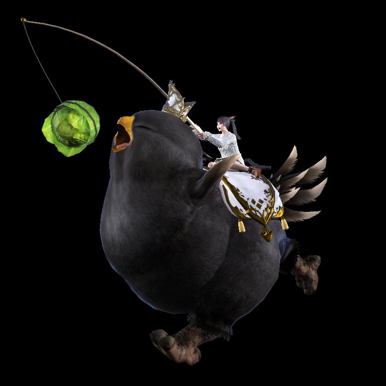 Fat Black Chocobo