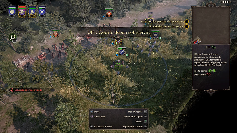 Ocultación unidades