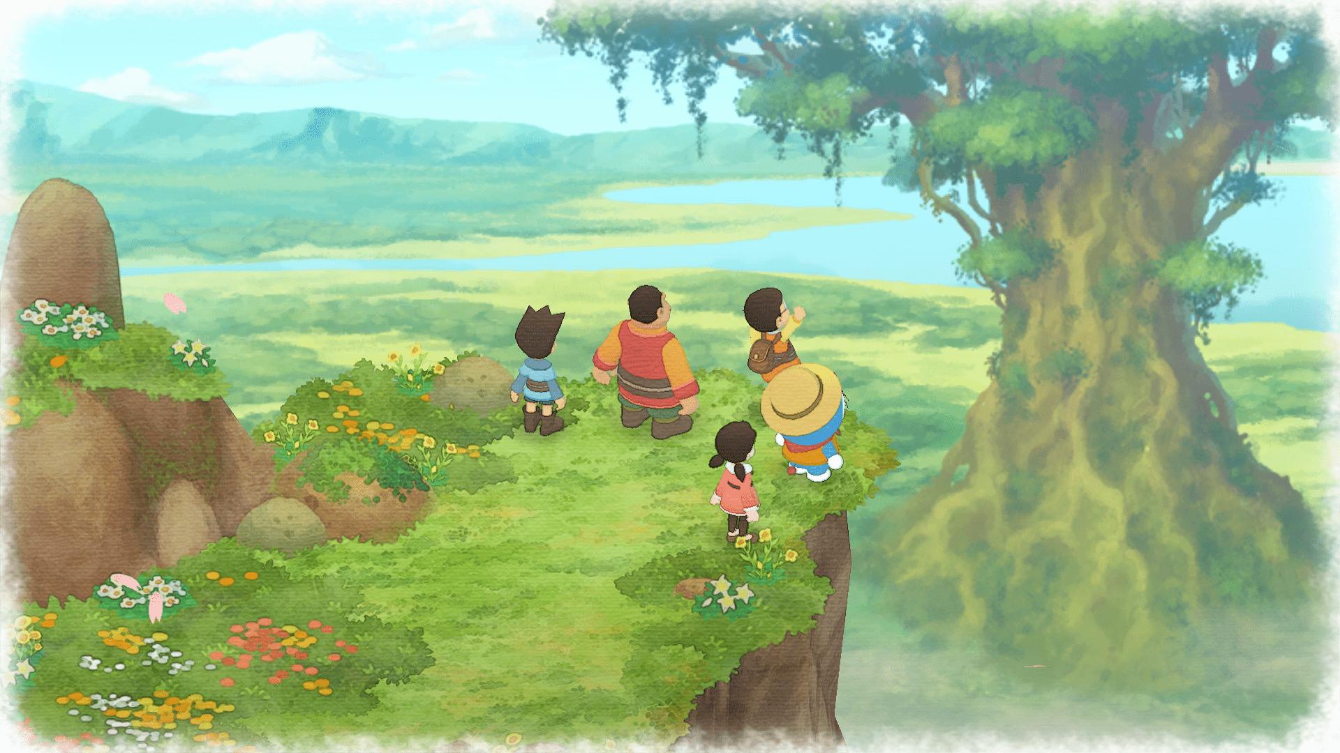 Nuestro cinco amigos empiezan la aventura