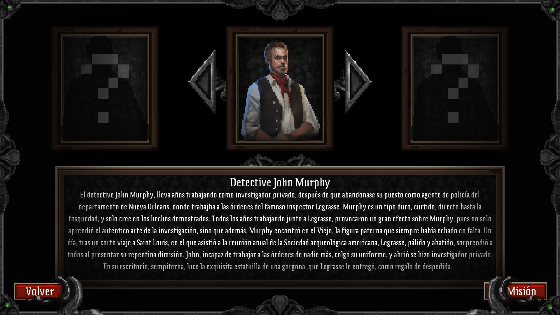 Lovecraft's Untold Stories  selección de personajes