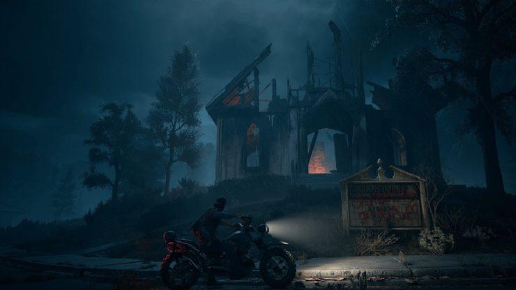 days gone trailer gameplay