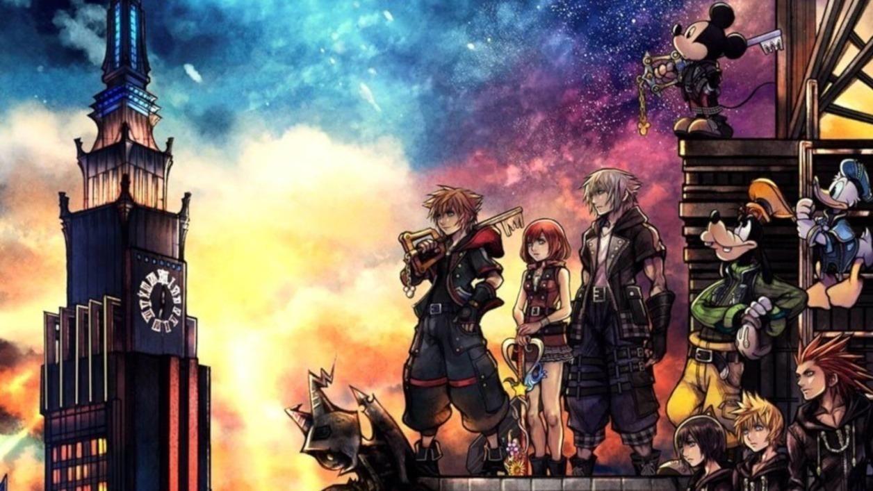 Portada Kingdom Hearts III