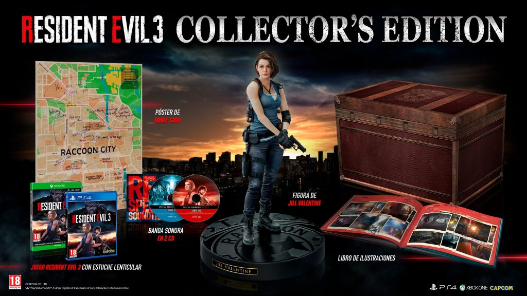 Resident Evil 3 Edicion Colecconista
