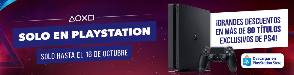 Resultado de imagen de Solo en PlayStation octubre
